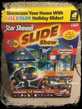 Star Shower Slideshow As Seen On TV LED Light Projector 12 Images NEW
