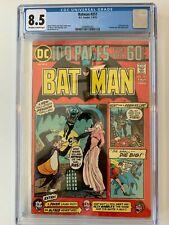 DC Comics  BATMAN 257 8.5  CGC