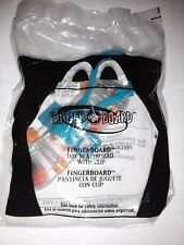 Mcdonalds Fingerboard Toy Skateboard with Clip