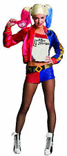 Deluxe Suicide Squad Harley Quinn Costume Halloween Cosplay Adult Size Small