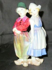 EARLY ROYAL DOULTON FIGURINE - HN1584 - WILLY WONT HE - IN NEED OF RESTORATION