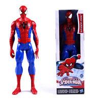 New Kids 12 inch Spiderman Titan Hero Large Marvel Action Figure Spider Man Toy