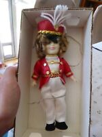 """VINTAGE 1982 Ideal Shirley Temple 8"""" Vinyl Doll Poor Little Rich Girl"""