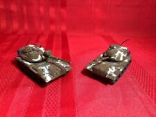 Zylmex T401 M60 A1 Tanks LOT OF 2 - Made In Hong Kong Vintage- RARE