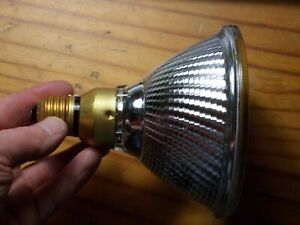 Belgium 25 Sylvania Hi-Spot 120 Halogen 100 W 230 V Flood 30° e27 Reflektor Lamp