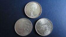 Italien Lot 4 x 500 Lire Silber 1961, 1965, 1974 und 1975 in vz -bfr. (E50)