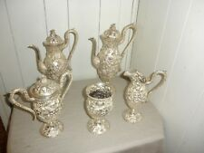 Ornate Sterling Silver Tea/Coffee Set