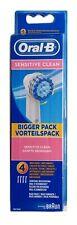 4 x Braun Oral B sensitive Clean cepillos insertables extra Soft-nuevo & OVP