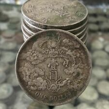 100% silver  Three years of Xuantong  Longyang in Qing Dynasty  Silver dollar