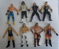 "Vintage Lot Of 8 Wwe Action Figures Wrestling 7"" (9784-1 A) #2"