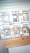 Lot of Six Funko Pop Game of Thrones Figures (some of the earliest released)