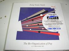 "v/a - Zang Tuum Tumb Re-Organization of Pop 10 x 7"" box set new sealed ltd #ed"