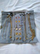Bundle Of Gold Earrings/ Necklaces/ Bracelets