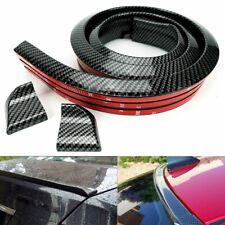 Car Rear Wing Lip Spoiler Tail Trunk Roof Trim Sticker Protector Universal D Fits Saturn Aura