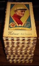HELMAR ART STAMP CARDS COMPLETE SET (600) Babe RUTH, Ty COBB, Mickey MANTLE