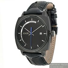 JOOP! Uhr Retro Analog JP100521F05 elegante Herren Armbanduhr in schwarz