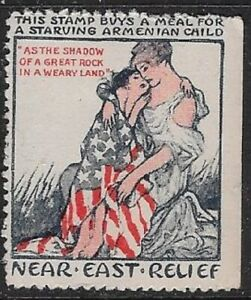 USA 1930s Cinderella: Meals for Starving Armenian Child-Near East Relief- dw33.5