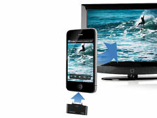 auvisio HDMI-Video-Adapter 1080p für iPhone, iPad & iPod touch am LCD-TV/ Beamer