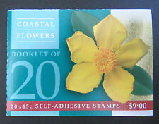 Australian Stamps: 1999 - Nature of Australia Booklet - Coastal Flowers Original