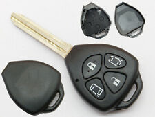 For Toyota Avensis, Camry, Rav4, Corolla, etc. Replacement 4 button key fob