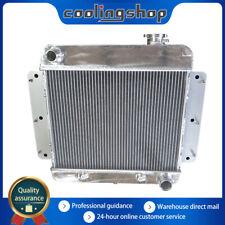 65 Nova Radiator Show Filler Panel Black Anodized no Engraving 65NO-00B