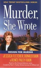 Murder She Wrote  Design For Murder    Jessica Fletcher  Mystery Pbk NEW