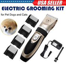 Rechargeable Mute Pet Cat Dog Hair Clipper Trimmer Shaver Groomer Professional