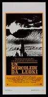 LOCANDINA UN MERCOLEDI DA LEONI JOHN MILIUS SURF WINDSURF BUSEY MILIUS L109