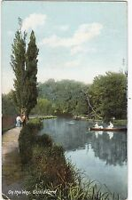 Boating On The River Wey, GUILDFORD, Surrey