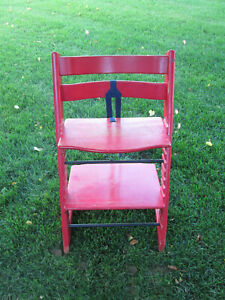 Good Used Condition, Red Stokke Tripp Trapp Chair