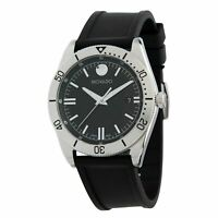 Movado Swiss 0607434 Men's Movado Sport Black Rubber Strap Watch