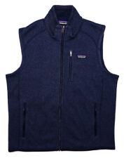 PATAGONIA Men's Better Sweater Full Zip Fleece Vest 25881 Blue Large L