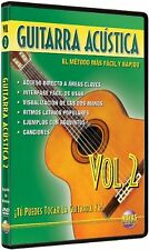 Guitarra Acústica,Vol 2:¡Tú Puedes Tocar La Guitarra Ya!-SPANISH EDITION DVD NEW
