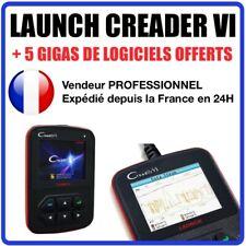 Launch Creader VI, Creader 6 Outil de diagnostic auto MANUEL EN FRANCAIS OBDII