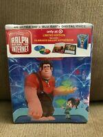 Ralph Breaks the Internet 4K UHD + Blu-Ray + Digital HD Target Exclusive Disney