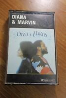 DIANA ROSS & MARVIN GAYE - DIANA AND MARVIN - CASSETTE TAPE ALBUM
