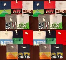 NWT Aeropostale Mens T Shirts Lot of 10 2XL XXL Double  Worldwide ship Resale