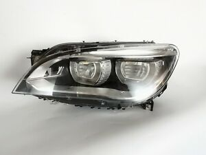 13 14 15 BMW 7 Series F02 F01 F04 Left Driver Headlight LED AdaptiveHeadlamp OEM