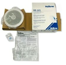 "NuTone MS625 Two Ceiling Speaker 8 Ohm 5-1/4 Woofer 1/2"" Swivel Dome Tweeter New"