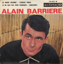 ALAIN BARRIERE  FRENCH EP LA MARIE JOCONDE   + 3