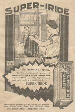 W1119 SUPER-IRIDE - Tinta per tessuti - Pubblicità 1926 - Vintage Advert