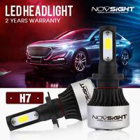 2X NOVSIGHT H7 LED Headlight Kit Light Bulbs Lamp 9000LM 72W White Beam 6500K