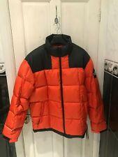 Brand New The North Face Lhotse Jacket Tangerine Tango Size M 100% Authentic