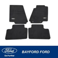 GENUINE FORD FALCON BA BF CONTOUR BLACK TAILORED FLOOR CARPET MAT KIT (SET OF 4)