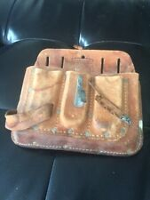Craftsman 100% Saddle Leather Tool Pouch  - Used (?)