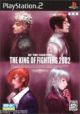 Used PS2 The King of Fighters 2002 KOF Japan import