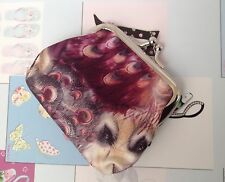 Peacock Women's Girls Fashion Vintage Style Coin Purse Bag Wallet Brand New