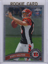 Andy Dalton 2011 Topps Chrome NFL RC Football Card Cincinnati Bengals ROOKIE!