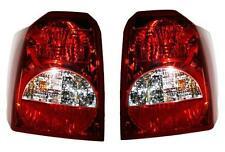07 Dodge Caliber Taillight Pair Set Both NEW Taillamp LH RH Brake Light