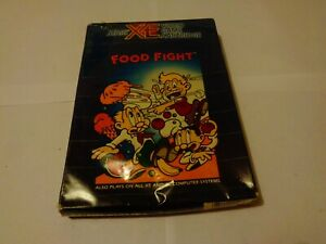 ATARI XE Boxed Game - Food Fight - SEALED!